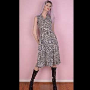 Vintage 90's mini flower dress